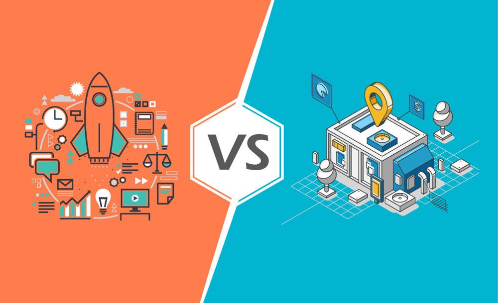 تفاوت بین استارتاپ ها و کسب و کارهای خرد